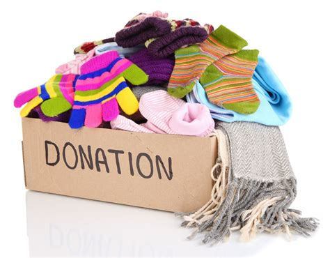 drop cloth clothing donations