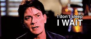 Charlie Sheen Sleep GIF - Find & Share on GIPHY