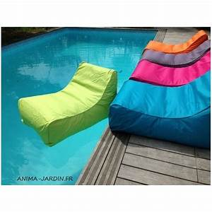 Pouf De Jardin : fauteuil flottant piscine kiwi gonflable canap de piscine pouf pas cher ~ Teatrodelosmanantiales.com Idées de Décoration