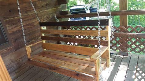 porch swing  pallets  pallets