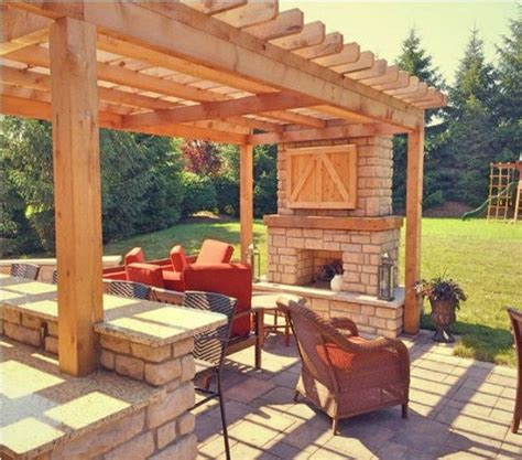 ideas  fire pit gazebo  pinterest backyards