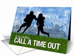 Free Christmas Gift Certificate Birthday Football Theme Players On The Field Card 1254098