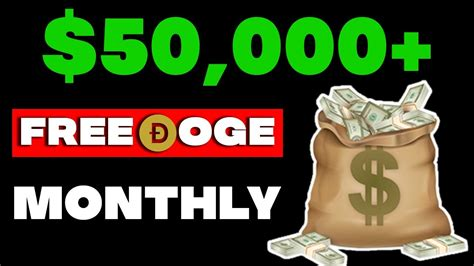 Earn Dogecoin ($50,000 PER MONTH) Without Investment ...