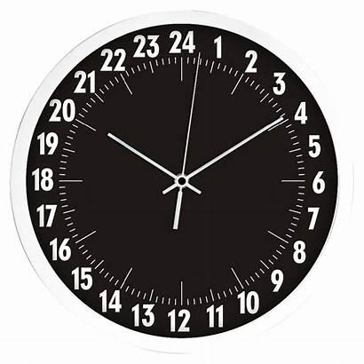 Clock Hour Analog Wall Modern Clocks Clip