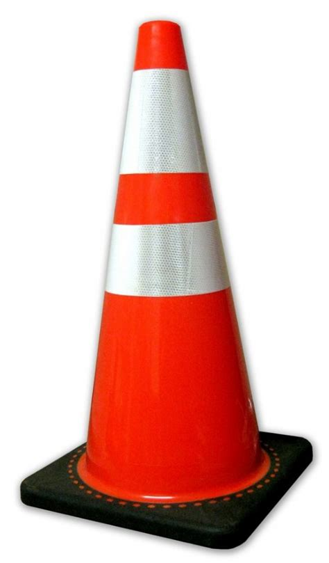 "28"" Traffic Cone c/w Reflective Collar Utility Supplies"