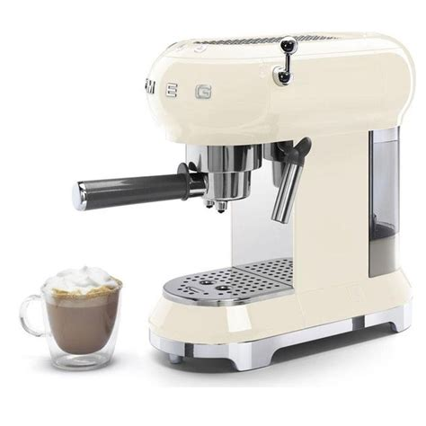 Join rodney from smeg as he takes the espresso coffee machine through its paces. Smeg ECF01CRUK 1.5 Bar Coffee Machine Maker 1 Litre Pod ...