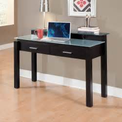 L Shaped Glass Desk Walmart by Crescent Desk Merlot American Signature Furniture