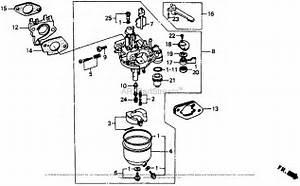 Honda Engines Gx240 Ha Engine  Jpn  Vin  Gc04