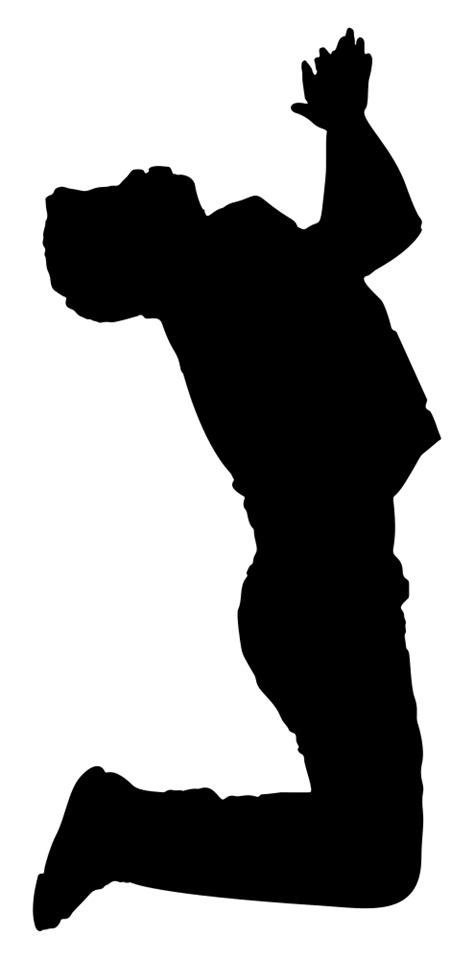 OnlineLabels Clip Art - Praying Man Silhouette