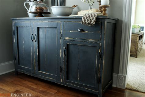 Ideas For Kitchen Colours - farmhouse buffet free diy plans rogue engineer