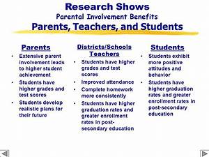 BUILDING CAPACITY FOR PARENTAL INVOLVEMENT - ppt download