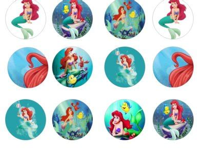 mermaid edible cupcake toppers for sale in dalkey dublin from flour power