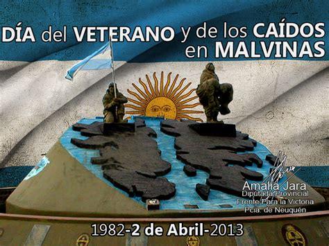 AMALIA JARA : DÍA DEL VETERANO Y DE LOS CAÍDOS EN MALVINAS