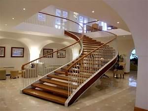Escalier De Maison Interieur : l 39 escalier moderne en 110 photos magnifiques ~ Zukunftsfamilie.com Idées de Décoration