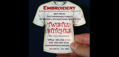 twisted stitches   magnet    shirt