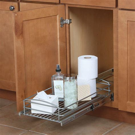 real solutions kitchen organizers pull out cabinet sturdy wire basket organizer with heavy 4511
