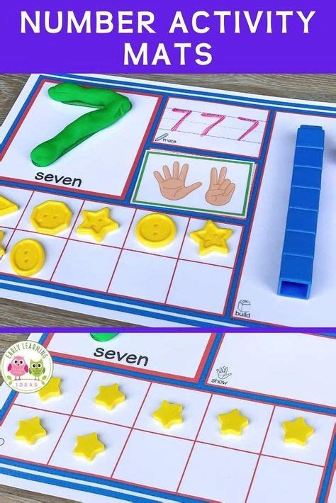 number activities ideas   math work stations