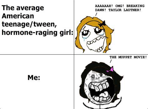 Rage Girl Meme - teen girls le rage comics