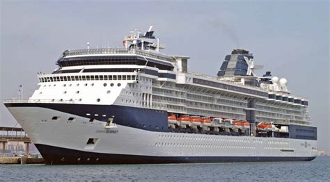 Celebrity Summit  Itinerary Schedule, Current Position
