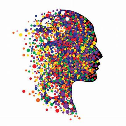 Human Abstract Vector Head Wellbeing Colorful Illustration
