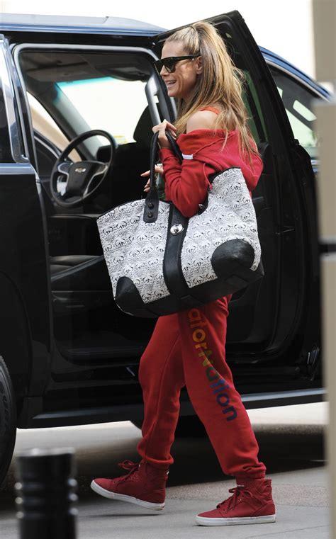Heidi Klum Arriving For The Americas Got Talent