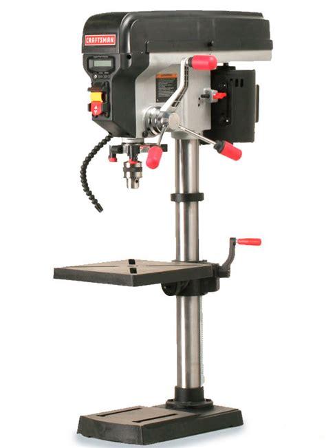 craftsman  benchtop drill press finewoodworking