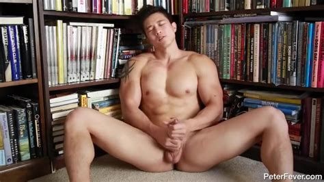 Hot Asian Guy Jerking His Big Cock Thumbzilla