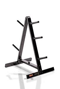 amazoncom weider standard weight plate storage rack plate trees sports outdoors