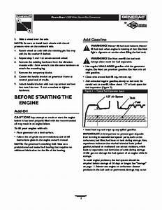 Generac 5500 Generator Owners Manual