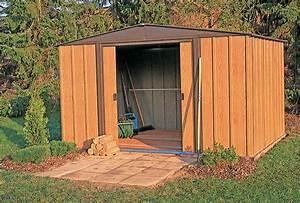 Abri De Jardin Demontable : abri de jardin metal arrow wl1012 acier galvanis 10 70 m2 ~ Nature-et-papiers.com Idées de Décoration