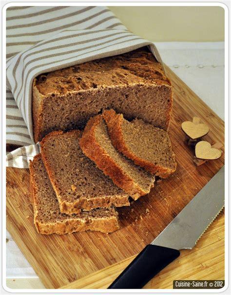 recette cuisine sans gluten recette bio de seigle au levain à la map cuisine