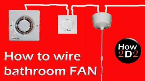 wire bathroom fan extractor fan  timer  fan