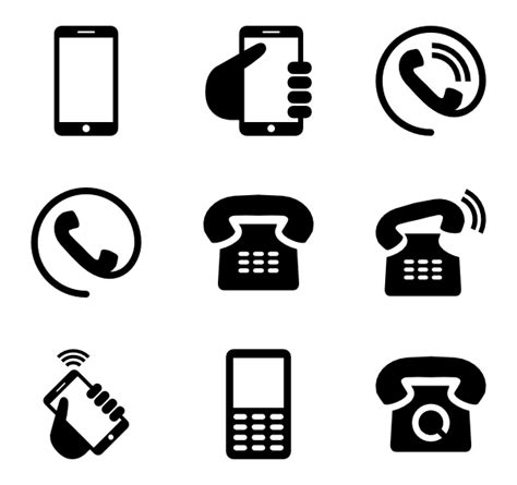 mobile icons 3 836 free vector icons