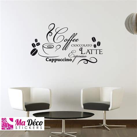 sticker cuisine pas cher sticker cappuccino latte pas cher stickers cuisine