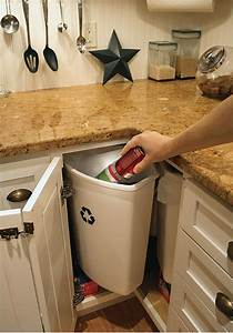 Kitchen Recycling Bins For Cabinets - Home Design