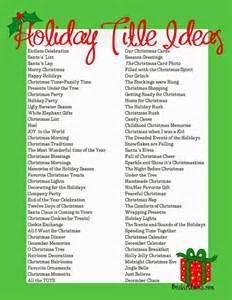 76 holiday page title ideas scrapbooking search and read more