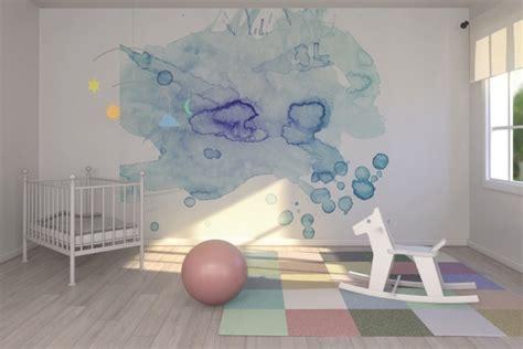 chambre bébé décoration murale deco chambre bebe mur aquarelle picslovin