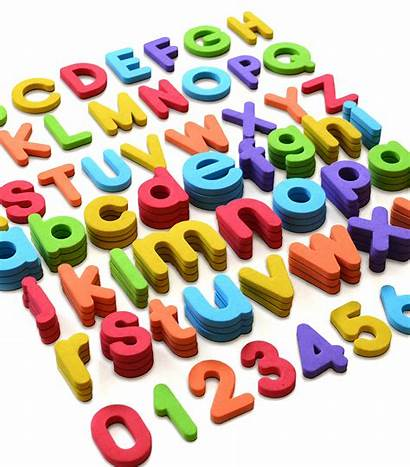 Magnetic Alphabet Numbers Magnets Foam Abc Letters
