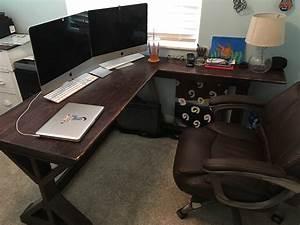 Fancy, X, Desk, L, Desk