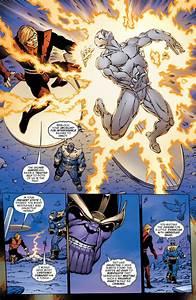 Adam Warlock and Quasar vs Death Seed Sentry and Plutonian ...