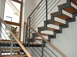Stahl Holz Treppe : treppe holz stahl mit holzhandlauf treppe pinterest ~ Markanthonyermac.com Haus und Dekorationen