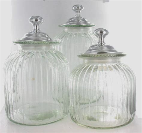 glass kitchen canister set 1000 images about canisters on soaps