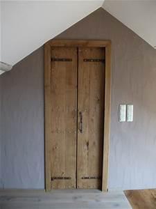 Porte Intérieur Double Vantaux : fabrication artisanale l 39 ancienne de portes int rieure ch ne ~ Melissatoandfro.com Idées de Décoration