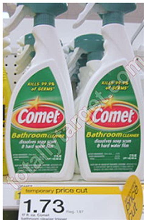 comet bathroom cleaner target target comet bathroom cleaner spray just 98 162