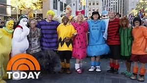 Halloween 2015: Good Grief! TODAY Gang Goes 'Peanuts ...