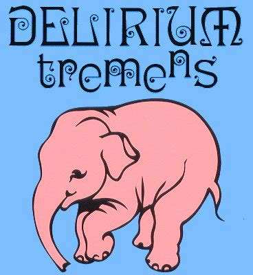 beer review delirium tremens  pint glass