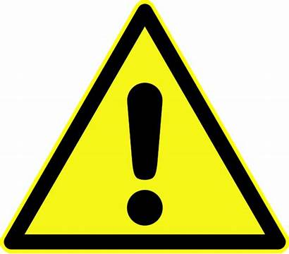 Warning Symbol Generic Sign Signs Hazard Triangle