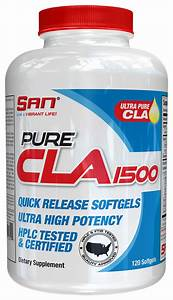 Pure Cla 1500 By San Nutrition At Bodybuilding Com