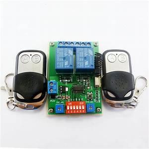 2020 2x Ev1527 Keyfob  U0026 Dc 12v 2ch Rf Timer Delay Relay