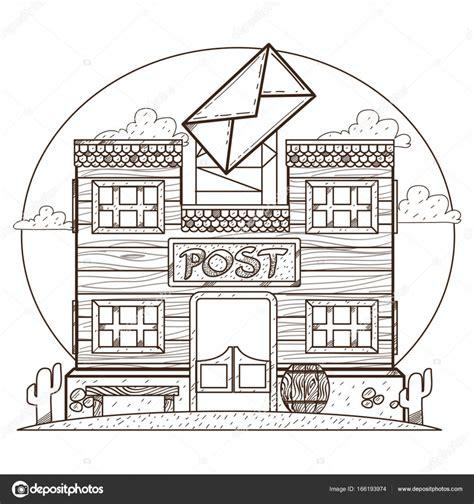 Immagini Di Uffici Ufficio Postale Poster Vettoriali Stock 169 Filkusto